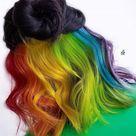 29 Stunning Rainbow Hair Color Ideas Trending in 2020