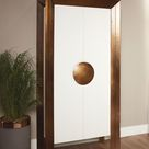 Global Views Framed Tall Cabinet