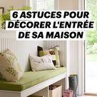 6 ASTUCES POUR DÉCORER L'ENTRÉE DE SA MAISON