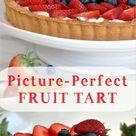 Fruit Tart with Custard Cream