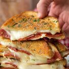 Pepperoni Pizza Grilled Cheese Sandwich   Lil' Luna