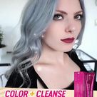 🌿Pure natural hair dye, does not hurt the hair.💞