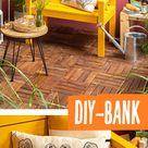 Gartenbank individuell gebaut!