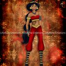 Jasmine ~ Aladdin ~ Urban Culture, BOHO, Hippie, Tattoo, In the hood
