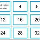 Classical Conversations MATH Hands on Activities Guide   Skip Counting Flashcards  Any Cycle