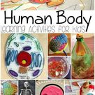 Human Body Learning Activities for Kids - A Spectacled Owl