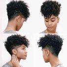 100+ Best Short Pixie Cut Hairstyles For Black Women 2020