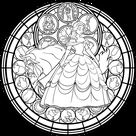 BEAUTY AND THE BEAST Adult Coloring Pages - This Fairy Tale Life