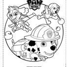 desenhos para colorir patrulha canina 224