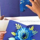 DIY Happy Mother's Day Card with Pop Up Flower