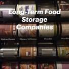 Long-Term Food Storage Companies