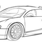 14 Exclusive Super Sport Car Bugatti Coloring Pages - Coloring Pages