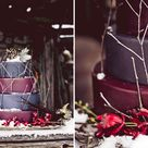 Purple Winter Weddings