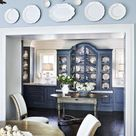 Decorating With Antique Pioneer Plates