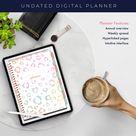 Digital Planner   Goodnote planner   Ipad Planner   Digital journal   Digital Stickers   Digital Planner Stickers   Wild Rainbow Leopard
