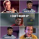 Beam me