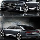 Audi A9 Avant Concept...   a grouped images picture