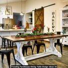 Trending Farmhouse Dining Table Design Ideas » Engineering Basic