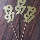 Class Reunion Decorations. Reunion Table Decorations. Year   Etsy