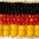 Deutschlandkuchen auf Biskuitboden von jasmin_87   Chefkoch