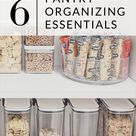 6 Pantry Organizing Essentials