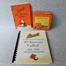 1983 Reese's 60th Anniversary Commemorative Employee Cookbook, H.B. Reese Candy Company, Hershey Chocolate