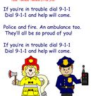 how to teach your preschool child or kindergartener to dial 911