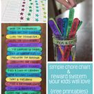 Simple Chore and Reward System Your Kids Will Love + Free Printables
