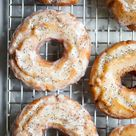 Lemon Poppy Seed Old Fashioned Donuts - NOW, FORAGER