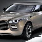 Wallpaper auto gray metallic lagonda style concept car 2009 front view aston martin