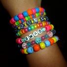Pony Bead Bracelets