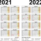 2021 Calendar Printable Uk | Free Letter Templates