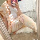 Feelin' Peachy smiley face tie dye set- Tie dye crewneck/hoodie/zip/sweatpants- Smiley face sweatshirt- Tie dye loungewear