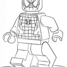 Lego Spiderman kleurplaat | Gratis Kleurplaten printen