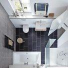 Kleines Bad: So schaffen Sie mehr Platz