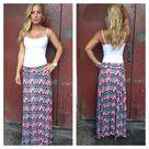 Aztec Maxi Skirts