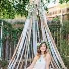 Backyard Bohemian Bridal Shower   Pink Slip Inspiration