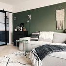 Over de groene muur en hoe je bespaart op je verf   Stylynnterior