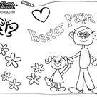Ausmalbilder zum Vatertag - Malvorlagen kostenlos | BabyDuda » Malbuch