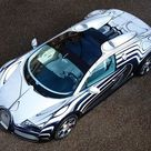 Bugatti Veyron Grand Sport LOr Blanc 2011 Poster. ID11570
