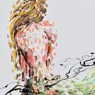Mermaid painting 48