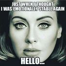 Adele Meme