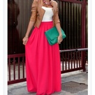 Coral Maxi Skirts