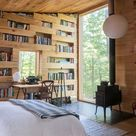 A 320-square-foot cabin offers refuge in upstate New York