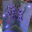 """Winter Wonderland"" musical lightup Christmas card"