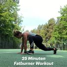 25 Minuten Fatburner Workout - der beste Kalorienkiller