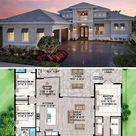 Single-Story 4-Bedroom Florida Home (Floor Plan)
