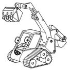 Bob The Builder Excavator Coloring Pages - Download & Print Online Coloring Pages for Free