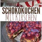 Schoko Kirsch Kuchen mit Vanille-Quark Füllung - Unalife