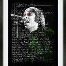 Oasis- Liam and Noel Gallagher Digital Prints